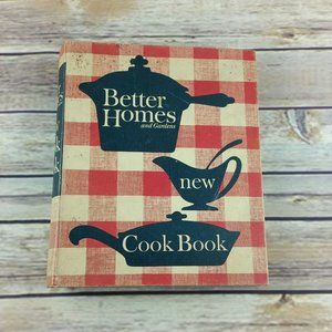 Vintage Cookbook Better Homes and Gardens Recipes